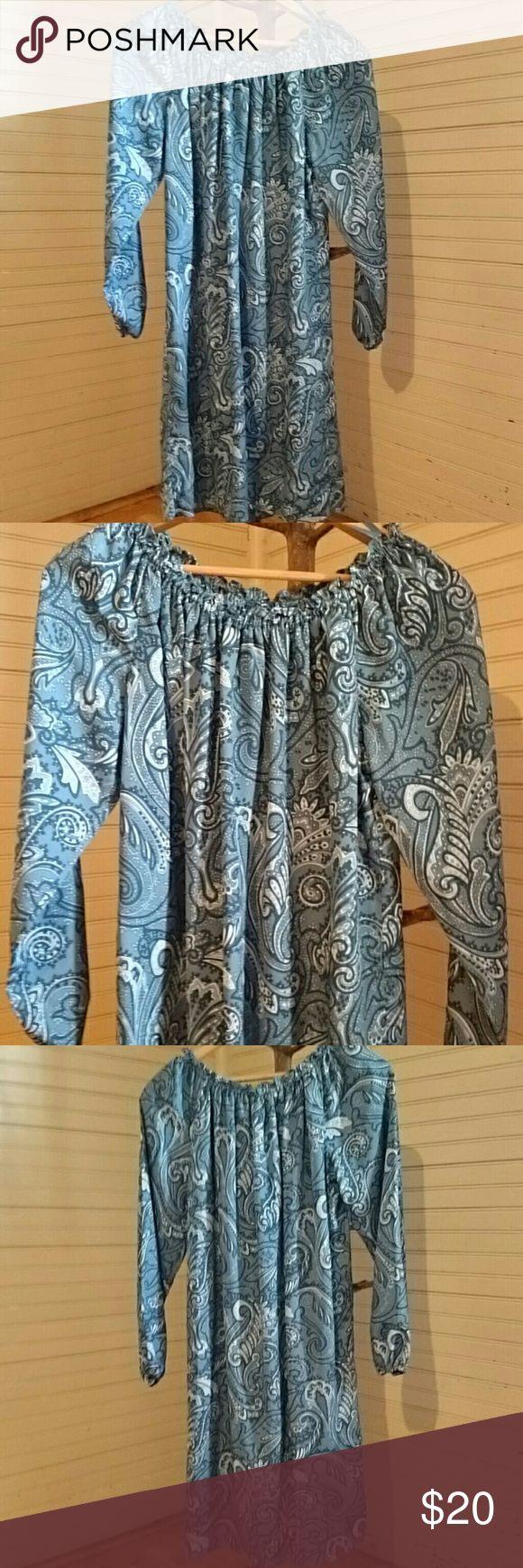 MICHAEL Michael Kors Paisley dress Great condition... Slip attached underneath MICHAEL Michael Kors Dresses Midi
