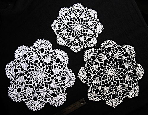Ravelry: Eight Point Star Doily Pattern By American Thread