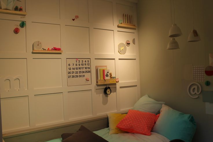 Happy bedroom! Meant to be for kids, but I guess adults would appreciate too!