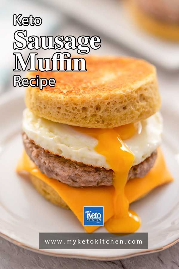 Keto Sausage And Egg Muffins Easy Breakfast Sandwich Recipe Recipe In 2021 Breakfast Sandwich Recipes Easy Breakfast Sandwich Keto Recipes Easy