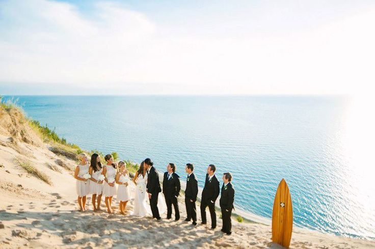 An Out-of-Towner's Guide to Planning a Pure Michigan Wedding  #Michigan #PureMichigan #MichiganWeddings