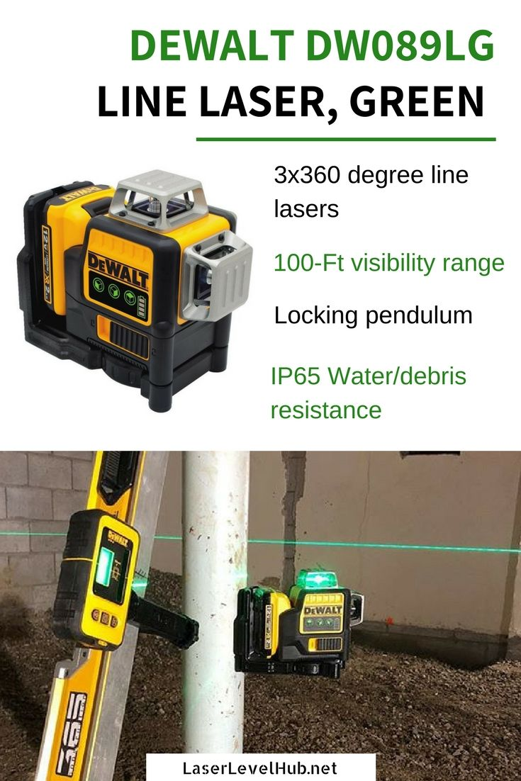Dewalt Dw089lg Green Laser Level Review 2018 Dewalt Green Laser Laser Levels