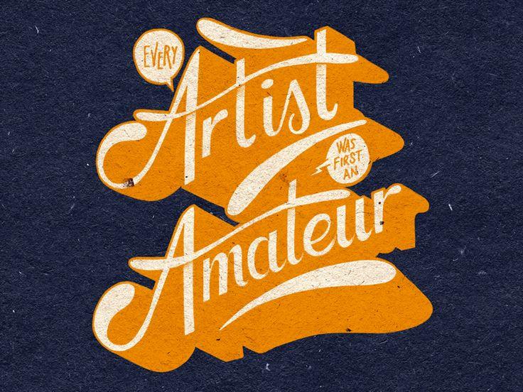 trendgraphy:  Project365 #73 Every Artist Was First An Amateur by bijdevleet Twitter: @Trendgrafeed