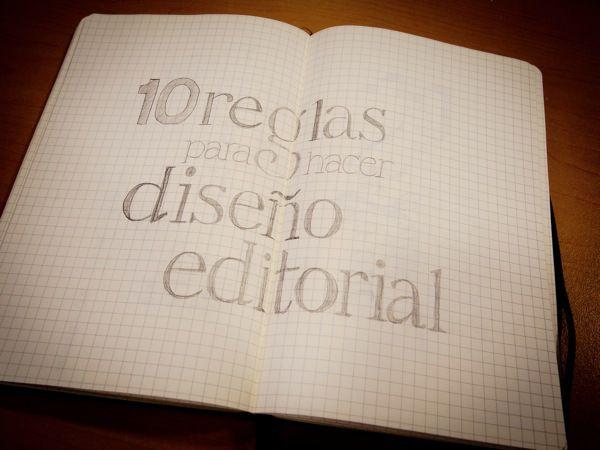 10 recetas de diseño editorial