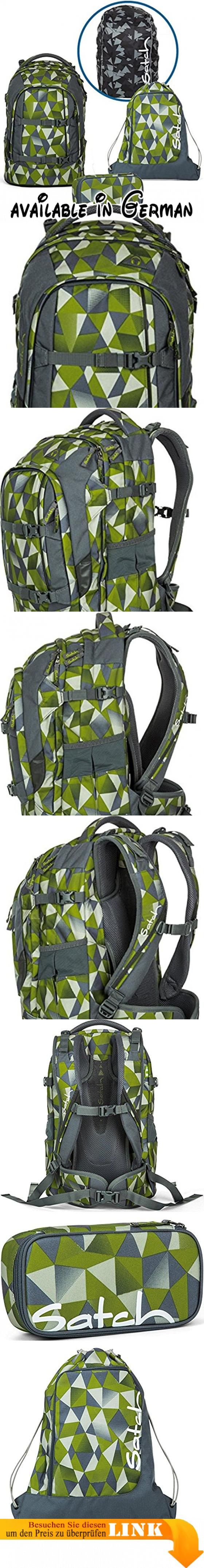 Satch Schulrucksack Set 4-tlg Pack Green Crush 9L1 green crush. Altersgruppe: Kinder. Artikeltyp: Rucksack Sets. Außenausstattung: Kompressionsriemen. Außenmaße: 30 x 22 x 45 cm (B|T|H). Für wen: Jungs #Office Product #EDUCATIONAL_SUPPLIES
