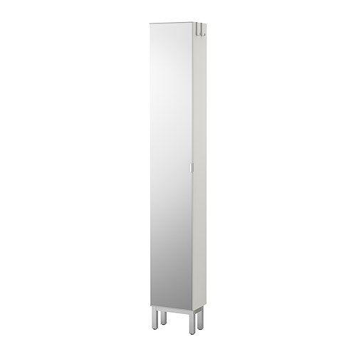 LILLÅNGEN Mirror cabinet with 1 door - white - IKEA