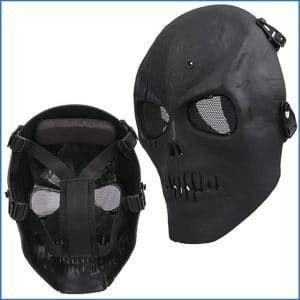 Coxeer M01 Army Skull Skeleton Airsoft Paintball Bb Gun Game Face Mask