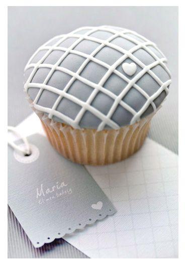 Grey cupcakes?