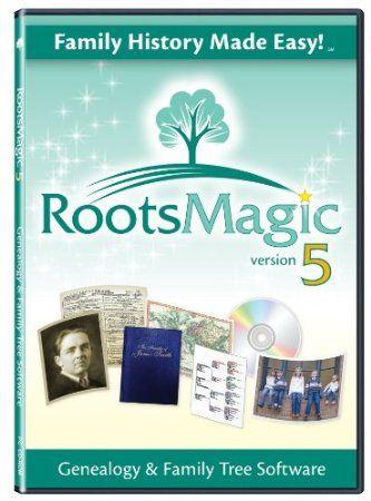 "RootsMagic 5 Family Tree Genealogy Software    ""The best genealogy program we've seen"""