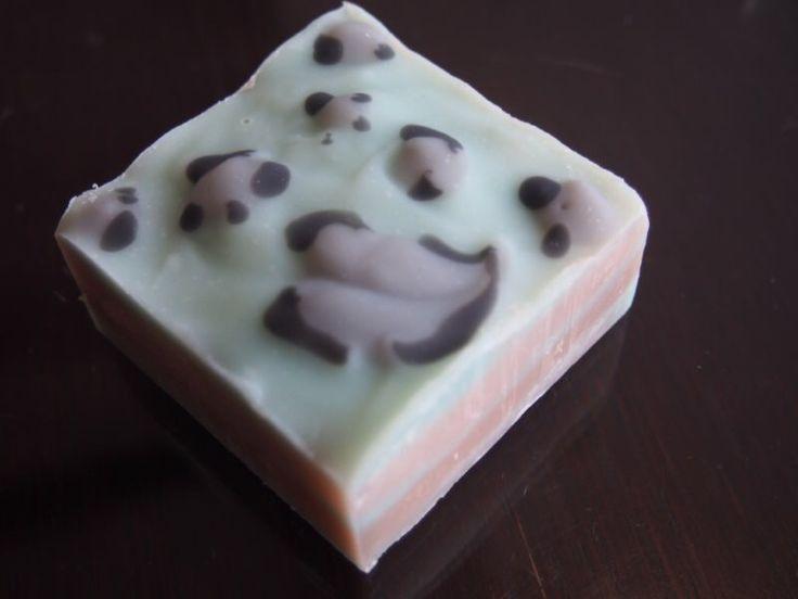 #leopard #soap #handmadsoap