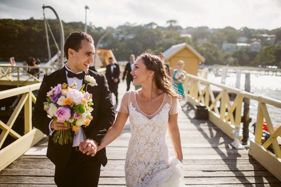 Real bride Rebekah in custom Louise Alvarez Couture. www.louisealvarezcouture.com.au (02) 9904 6566