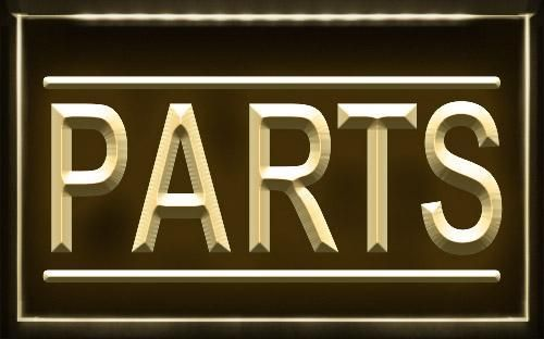 PARTS Auto Car Shop Display Light Sign