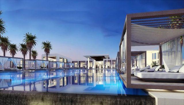Monte Carlo Beach Club, Abu Dhabi.............I think if I chose to teach in Abu Dhabi, I need to become a member here. Haha!!