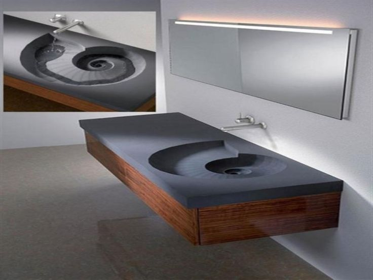1000+ Ideas About Floating Bathroom Vanities On Pinterest
