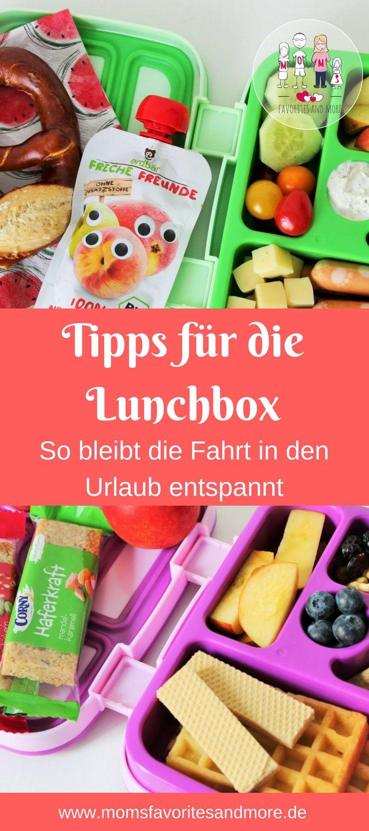 Ob für den Kindergarten, die Schule oder die Fahrt in den Urlaub. Eine Lunchbox ist immer eine gute Idee. Hier gibt es Tipps für eine gesunde und ausgewogene Ernährung und Ideen, wie ihr die Lunchbox eurer Kinder mit abwechslungsreich und gesund füllen könnt. Gemüse, Obst und kleine Knabbereien für die Frühstückspause, Hofpause oder die Fahrt in den Urlaub machen die Lunchbox zu einem Erlebnis. Das wird eure Kinder begeistern.