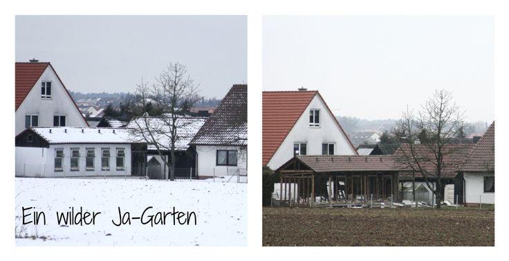 Gemüsegarten anlegen, Bauerngarten, vorher Bilder