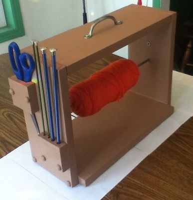 Portable Yarn Dispenser/organizer