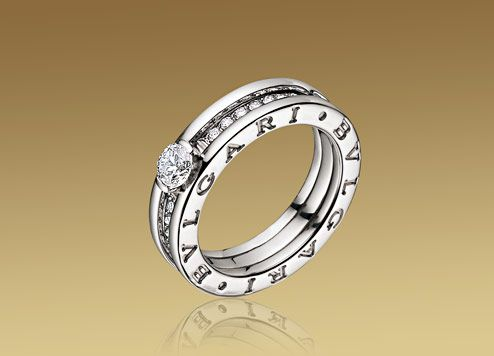 a engagement ring inspired by the most popular bulgari jewellery line