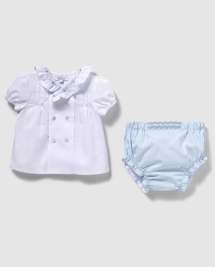 25 best Patrones .blusas de bebe images on Pinterest | Babies ...