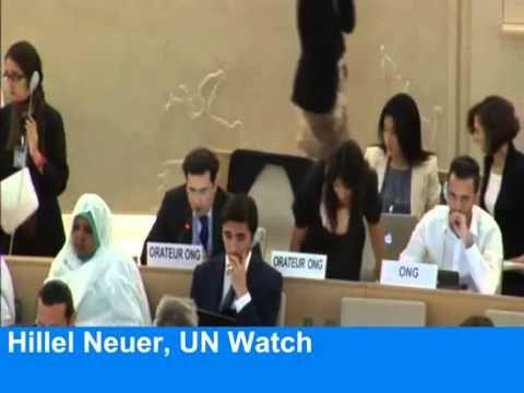 EU walks out on anti-Israel UN debate *Arab states outraged* Interessante ontwikkelingen binnen de Raad voor de Rechten van de Mens van de Verenigde Naties (UNHRC). Steeds meer landen boycotten het...