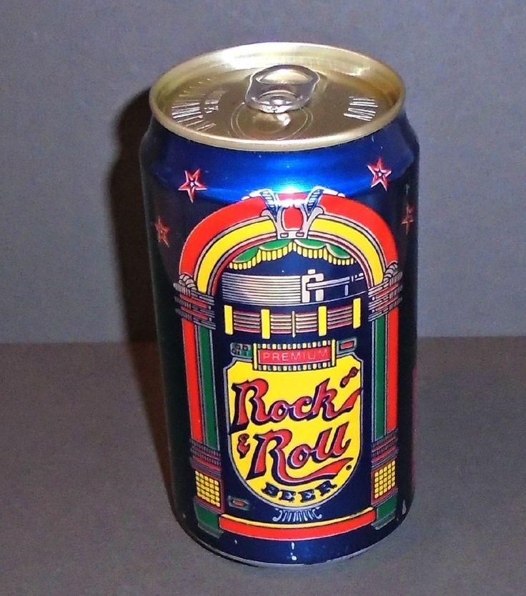 Rare Rock n Roll Beer, Graphic Jukebox Beer Can, Pittsburgh Brewery, Penn