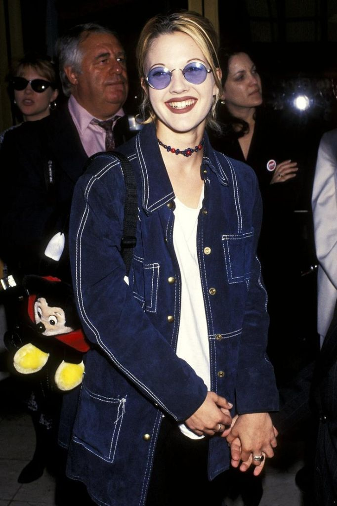 #ThrowbackThursday: Flower Child, Drew Barrymore - http://lcknyc.com/1mq6rFw
