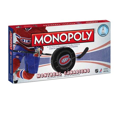 Beh j'ai mon voyage, une version Canadiens de Montréal du célèbre jeu Monopoly!!!!!