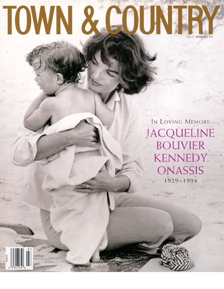 Upon Jackie's death in 1994, T&C published a special issue featuring a 20-page tribute to the charmed and tragic life of the former First Lady.