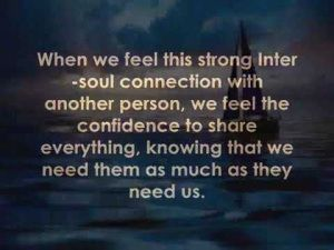 "Quotes About Kindred Spirits | The idea of a ""soulfriend"", I like this a lot, it would be great ..."