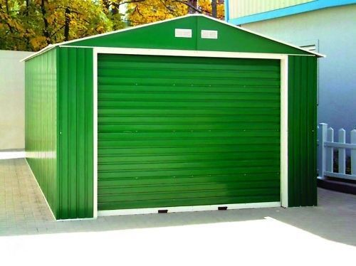 DuraMax Steel Sheds 12x32 Imperial Metal Storage Garage Building Kit (55261)