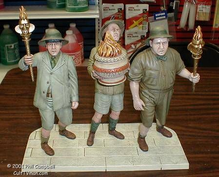 For more photos and info visit Phil Campbell's Three Stooges - http://culttvman.com/main/phil-campbells-three-stooges/