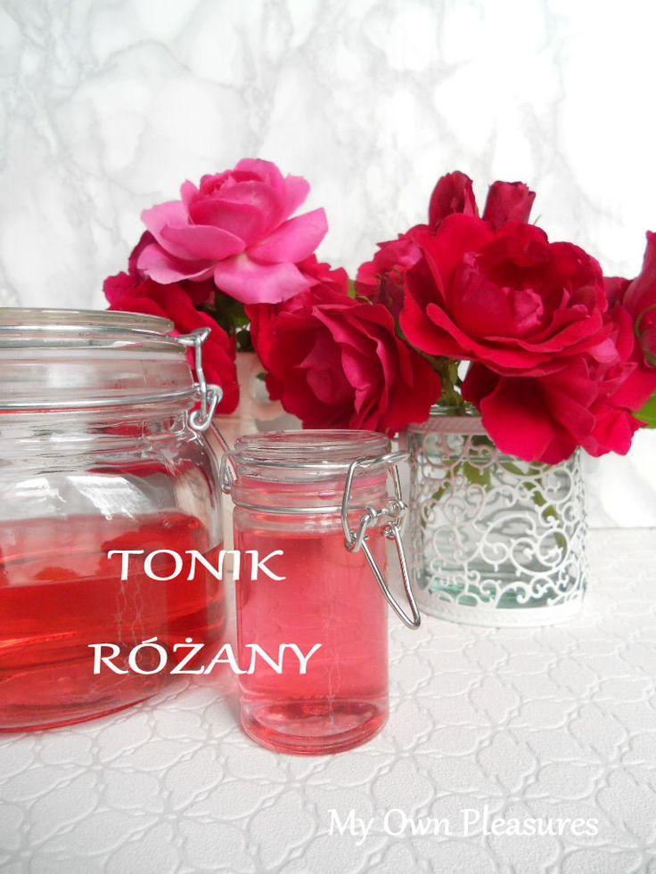 Domowe kosmetyki - tonik różany