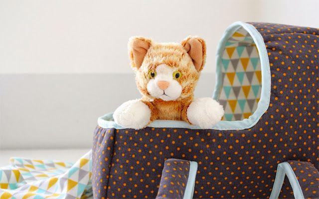 Muster für Puppentragetasche