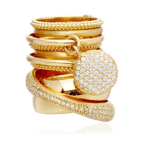 #ring #jewelry   18-karat yellow gold Arncor ring by Carla Amorim  from blog: http://geeliciouspassion.wordpress.com/2012/05/31/ethnicity/