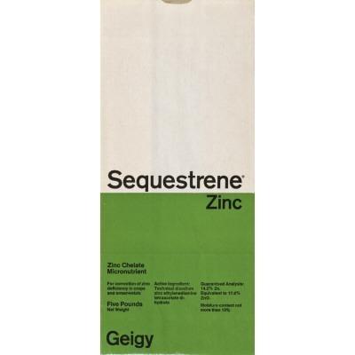 Sequestrene Zinc Geigy-Verpackung, 1967