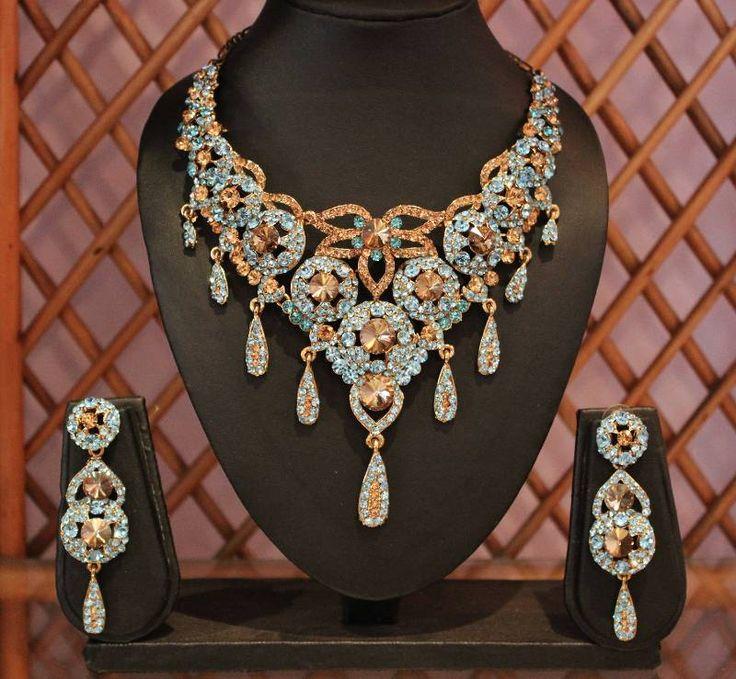 Gorgeous bridal jewellery