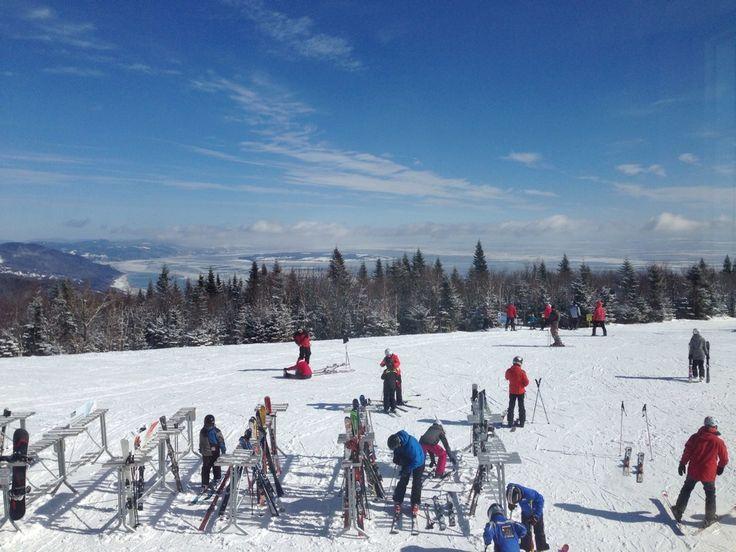 Le Massif de Charlevoix in Petite-Riviere-St-Francois, QC Ski // Ski Québec