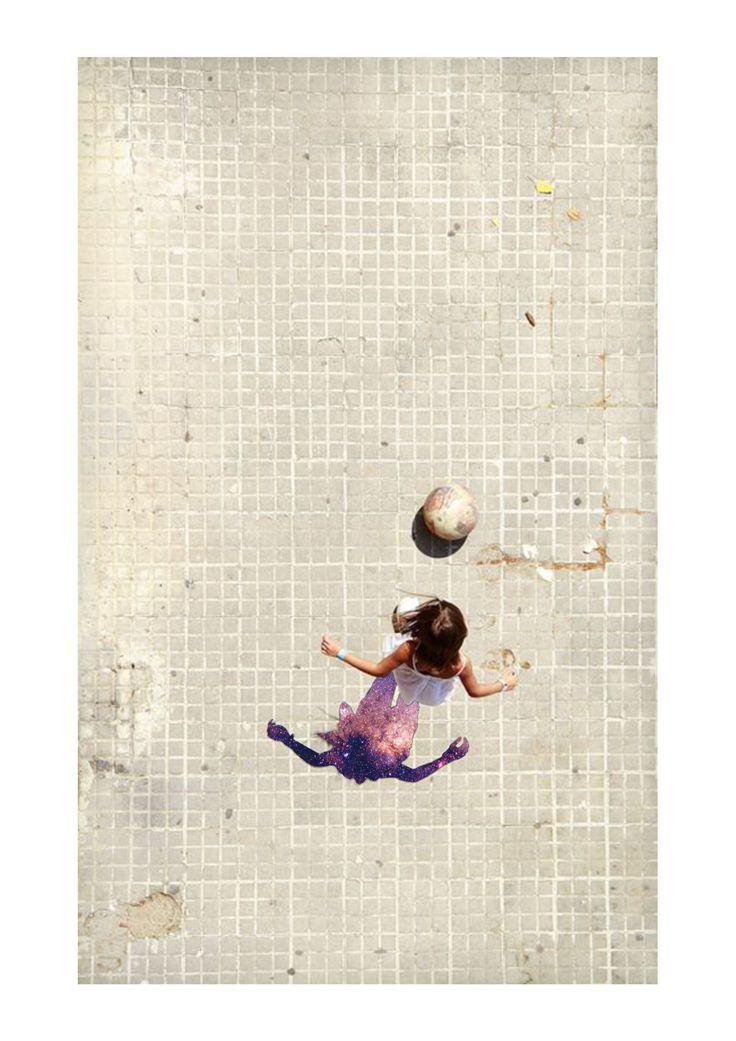 DAY9 - giochi infiniti  -  (isp:Noemau - Girl playing ball / www.noemau.jimdo.com)