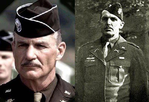 Dale Dye as Col. Robert F. Sink in Band Of Brothers