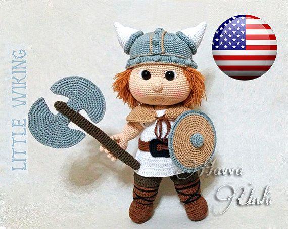 Amigurumi Viking Pattern : English Pattern JUST CLOTHES Viking Costume by ...