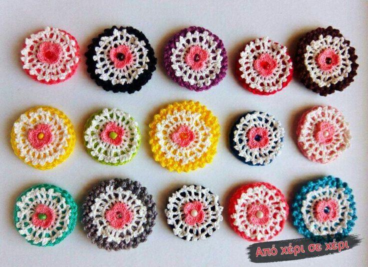 #Καλοκαίρι #2017 με #δαχτυλίδια σε #αγαπημένα #χρώματα από #χειροποίητη #δαντέλα  ........πόσο τα αγάπησα !!!!!! Καλοτάξιδα να είναι ♥ #απόχέρισεχέρι #summer #2017 #rings  with #favorite #colors from #handmade #lace I #love them  ♥ #crochetjewelry #πλεκτό #κόσμημα