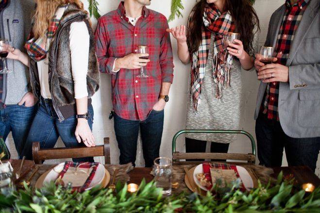 Minnesota Flannel, Figs & Fur: A Holiday Inspiration Shoot From Woven & Wed