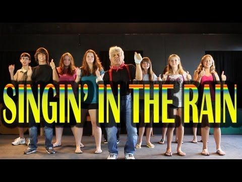 """Singing in the Rain"", is by far a children's favorite, silly action song. Each verse adds another silly movement and the children love it. This is a great song for brain breaks, indoor recess or group activities. Also, it can be included in your seasonal theme on spring and is a HIT performed for family nights."