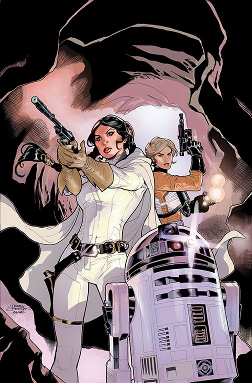 Star Wars: Princess Leia #3 Cover by TerryDodson.deviantart.com on @DeviantArt