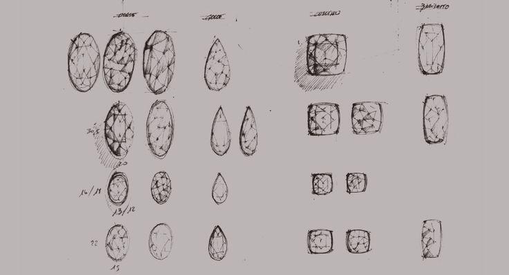 Massimiliano Bonoli - Project Design Gemstones #sketch