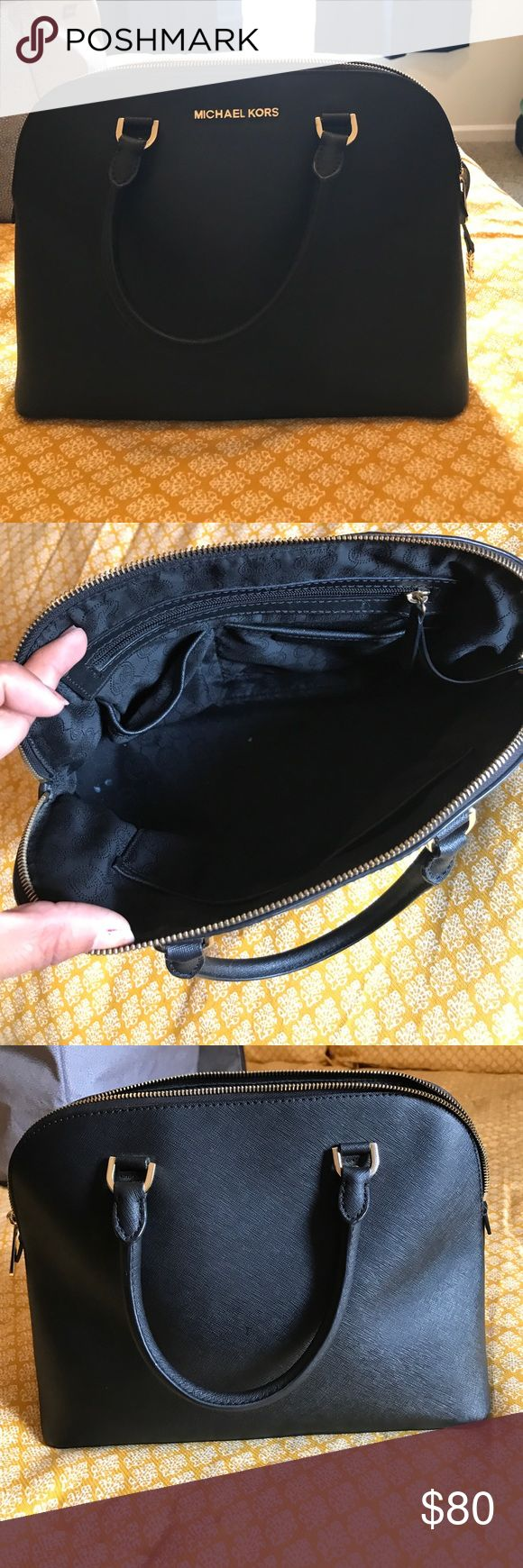 Michael Kors bag Michael Kors tote bag, excellent used condition. Slight wear at bottom of bag, pictured. LOVE this bag, sad to part with it. Michael Kors Bags Totes