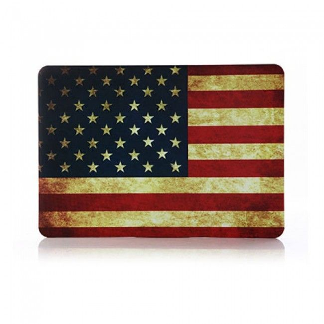 Patriot (US-Lippu) Apple Mackbook Air 13.3 Suojakuori - http://lux-case.fi/macbook-suojakotelot.html