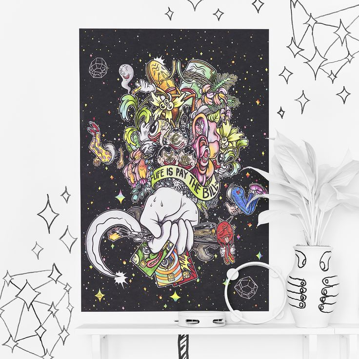 HAHAN for IKEA ART EVENT 2017 limited edition collection CHF 9.95. Available in April. #IKEAartevent #IKEAcollections #IKEAartevent2017 #Illustration #Drawing #HandDrawn #LimitedEdition