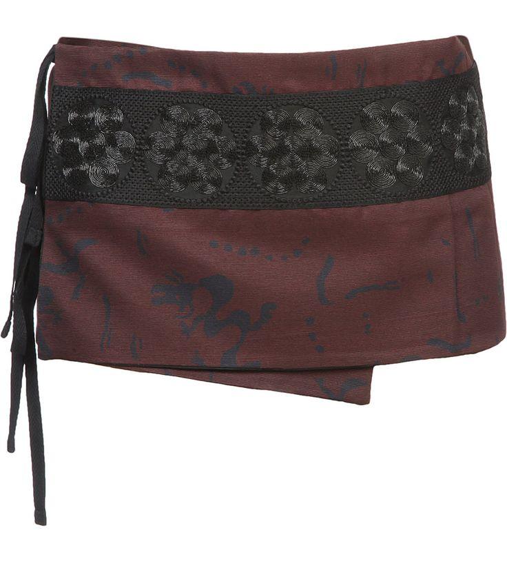 DRIES VAN NOTEN - Embroidered cotton-blend cumberband | Selfridges.com