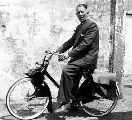 de Solex: de 1e gemotoriseerde fiets (60's)